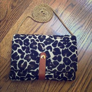Street Level Animal Print Shoulder Bag
